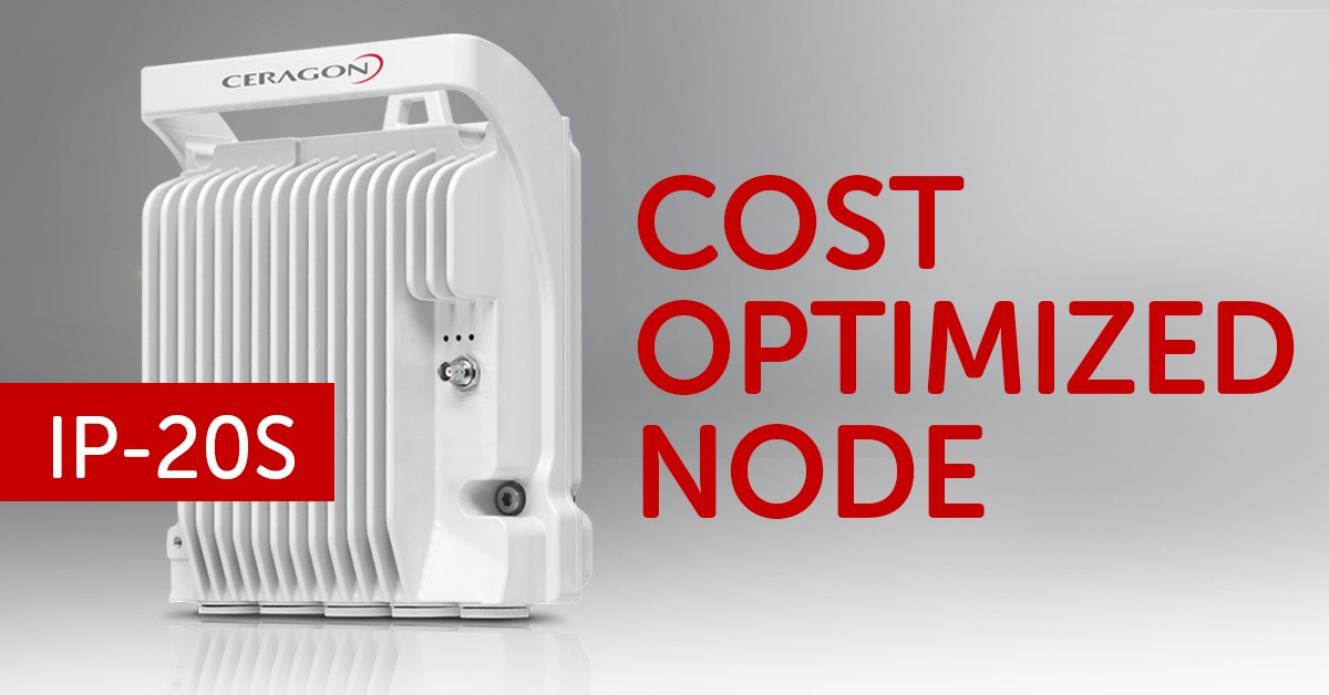 FibeAir IP-20S - cost optimized node